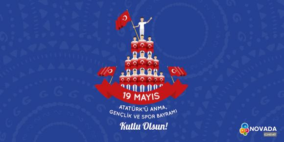 ATATÜRK'Ü ANMA GENÇLİK VE SPOR BAYRAMI KUTLU OLSUN!