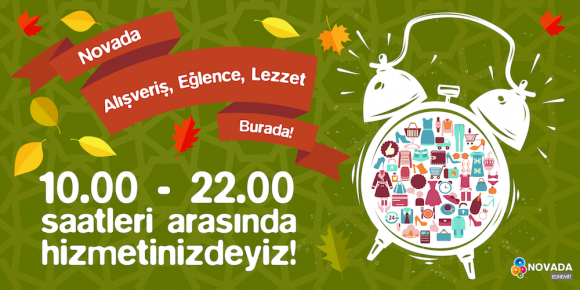 NOVADA ALIŞVERİŞ, LEZZET, EĞLENCE BURADA!