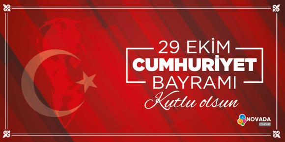 29 Ekim Cumhuriyet Bayramını Kutluyor,Mustafa Kemal Atatürk'ü saygı ve sevgiyle anıyoruz.