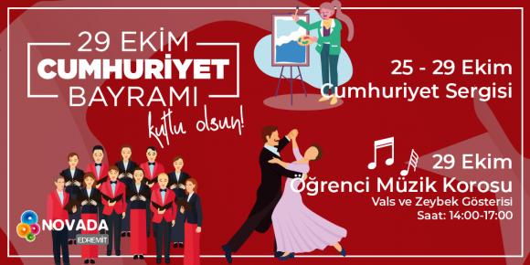 CUMHURİYET BAYRAMI KUTLU OLSUN!