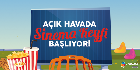 AÇIK HAVADA SİNEMA KEYFİ BAŞLIYOR!